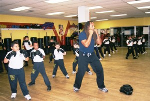 Historic photo of Junior Jeet Kune Do class at Unified Martial Art